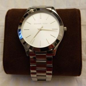 Michael Kors silver watch!